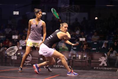 Women sport news - El Sherbini and David Set up Mouthwatering Women's World Championship Quarter-Final Clash