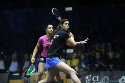 Women sport news - El Sherbini and El Welily on Course to Meet in Final of First Women's El Gouna Internationa