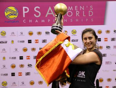 Women sport news - El Sherbini Becomes Youngest Ever Women's World Champion