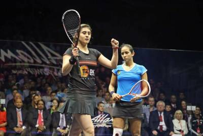 Women sport news - El Sherbini Is New Women's World No.1