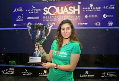 Women sport news - El Sherbini Lifts Hong Kong Open Title