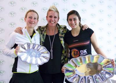 Women sport news - El Sherbini Retains Carol Weymuller Open Crown