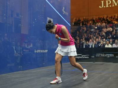 Women sport news - El Tayeb Defeats World Champion El Welily in Tournament of Champions