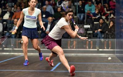 Women sport news - El Welily and El Sherbini Set Up Final Showdown at Black Ball Open