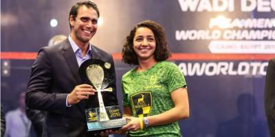 Women sport news - El Welily Lifts Wadi Degla Open Crown