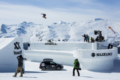 Women sport news - Elena Könz wins the Snowboard Big Air Contest at Suzuki Nine Queens presented by O'Neill