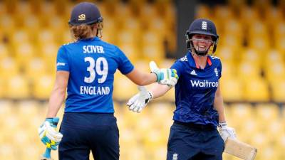 Women sport news - England captain dreaming of lifting the trophy at Lord's after guaranteeing place in next summer's tournament.