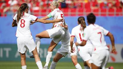 Women sport news - ENGLAND REACH WORLD CUP QUARTER FINALS AFTER VICTORY OVER CAMEROON