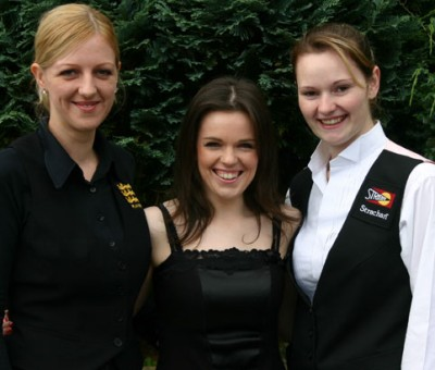 Women sport news - Evans faces world best at the Connie Gough National snooker Championship