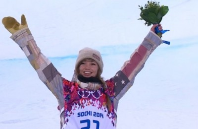 Women sport news - Farrington wins half pipe Gold