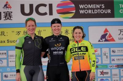 Women sport news - Final Stage And Overall Victory For Jolien D'hoore On Chongming Island