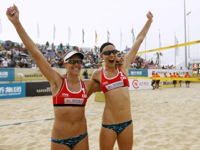 Women sport news - First FIVB gold for Canada's Broder/Valjas at Fuzhou Open