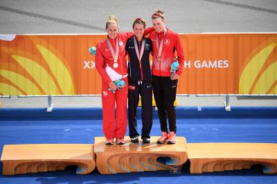Women sport news - Flora Duffy claims gold at the Commonwealth Games