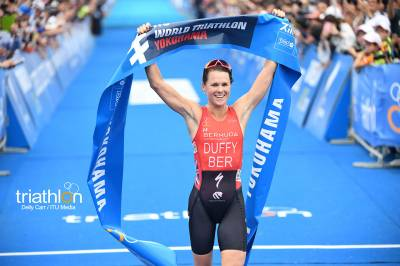 Women sport news - Flora Duffy Soars to Top of Rankings after WTS Yokohama Win
