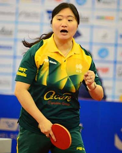 Women sport news - Four Previous Attempts, Never a Finalist, Zhenhua Dederko Surprise Oceania Winner
