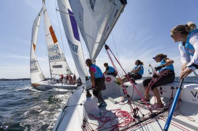 Women sport news - Four team ready for semi-finals i Lysekil