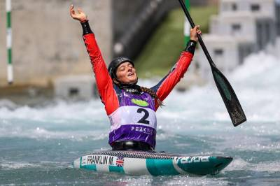 Women sport news - Franklin provides British gold at canoe slalom world cup
