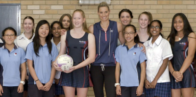 Women sport news - Geitz urges teenagers to `stick with' sport