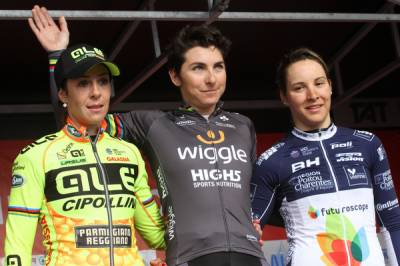 Women sport news - Giorgia Bronzini Wins The GP Dottignies For The Third Time