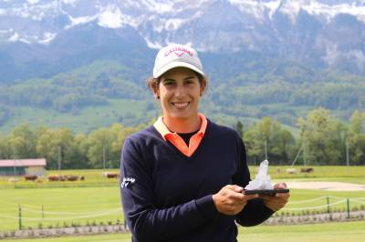 Women sport news - Gonzalez Garcia Wins Nail-Biter at ASGI Swiss Ladies Open