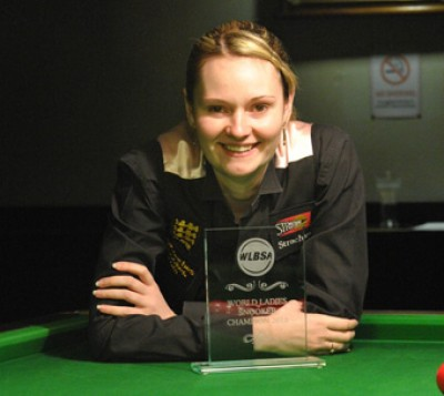 Women sport news - Greene King World Ladies Snooker Championship.