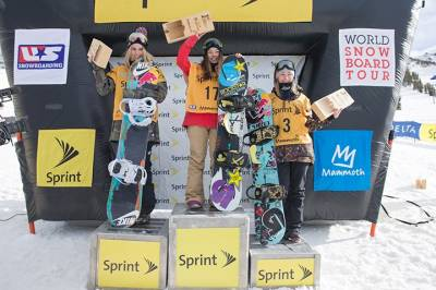 Women sport news - Hailey Langland wins the Sprint U.S. Snowboarding Grand Prix Slopestyle Finals at Mammoth Mt.