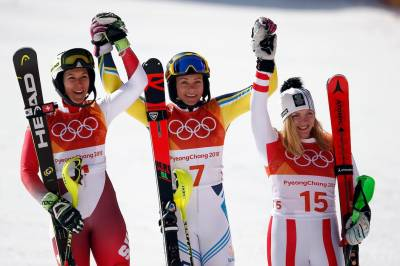 Women sport news - Hansdotter takes her first Gold in Women's Slalom