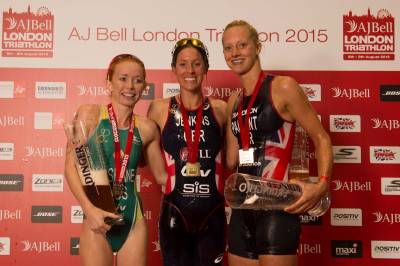 Women sport news - HELEN JENKINS STORMS TO VICTORY AT THE AJ BELL LONDON TRIATHLON