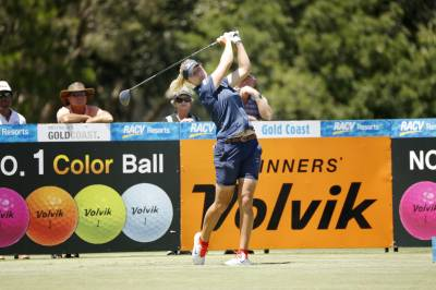 Women sport news - Henderson, Broch Larsen and Ricordeau share lead at RACV Ladies Masters