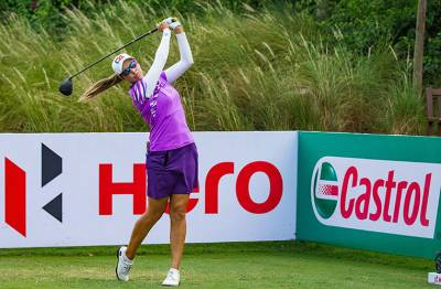 Women sport news - Hillier out in front at the Hero Women's Indian Open.