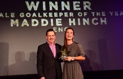 Women sport news - Hinch named FIH Female Goalkeeper of the Year