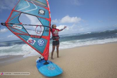 Women sport news - Iballa Ruano Moreno (Spain) crowned windsurfing world champion 2015