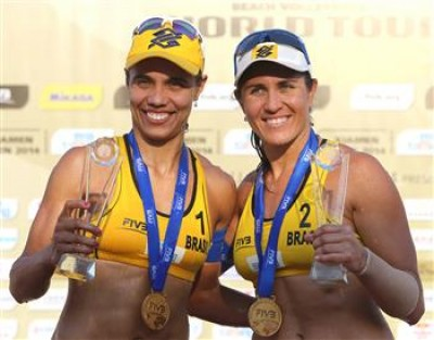 Women sport news - Juliana/Antonelli clinch their first gold at Xiamen Open on Sunday