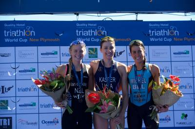 Women sport news - Kasper executes the perfect race to win in New Plymouth