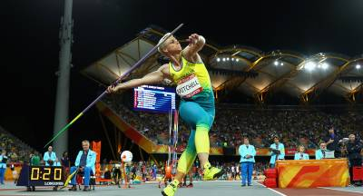 Women sport news - Kathryn Mitchell breaks javelin record to claim emotional gold