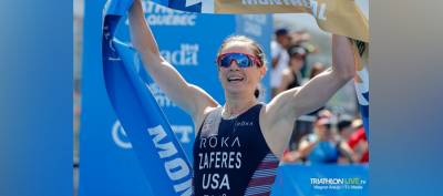 Women sport news - Katie Zaferes commands in WTS Montreal