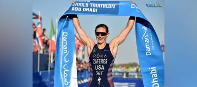 Women sport news - Katie Zaferes powers to WTS Abu Dhabi gold as world title hunt begins in UAE