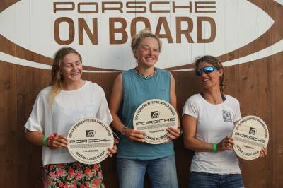 Women sport news - KiteFoil World Series Gizzeria - Event Wrap Up