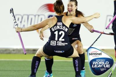 Women sport news - Korea and New Zealand win first quarter-finals of Sentinel Homes Women's Hockey World League Final 2017