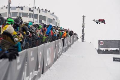 Women sport news - LAAX OPEN 2018 Halfpipe Winner JIAYU LIN OF CHN