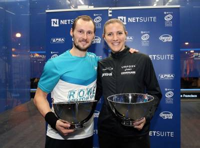 Women sport news - Laura Massaro Lifts NetSuite Open Title