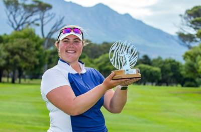 Women sport news - LET ROOKIE ALICE HEWSON WINS INVESTEC SOUTH AFRICAN WOMEN'S OPEN