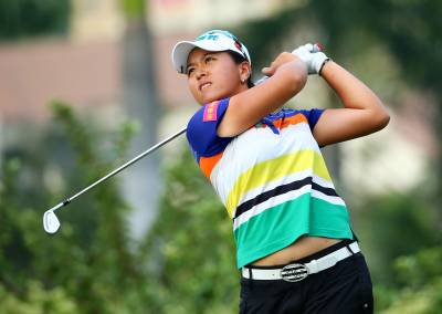 Women sport news - Lin heads crowded leaderboard at Sanya Ladies Open in China