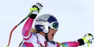 Women sport news - Lindsey Vonn Breaks Record With 63rd World Cup Victory
