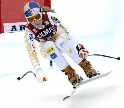 Women sport news - Lindsey Vonn's Knee On Mend