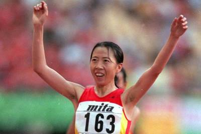 Women sport news - Liu breaks world 50km Race Walk Record in Huangshan