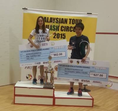 Women sport news - Liu Takes Out Tong For Malaysian Tour Title