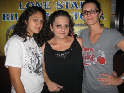 Women sport news - Lone Star-Big Tyme Billiards in Houston