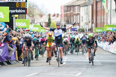 Women sport news - Lucy Garner Takes Second In Women's Tour De Yorkshire Bunch Sprint