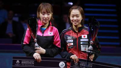 Women sport news - Ma Long returns with style and a first for Kasumi Ishikawa